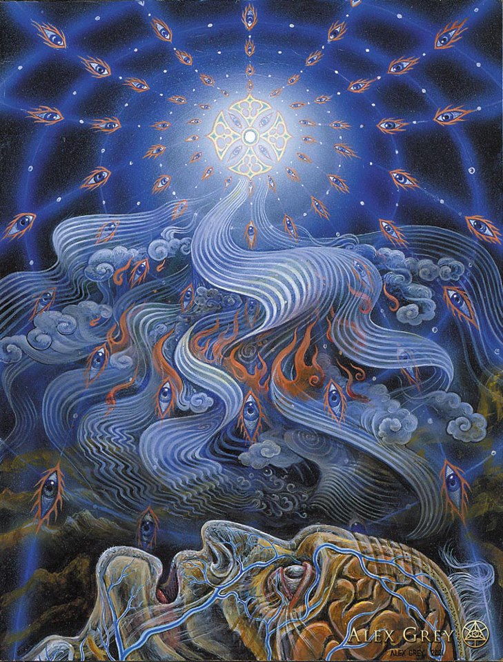 by Alex Grey